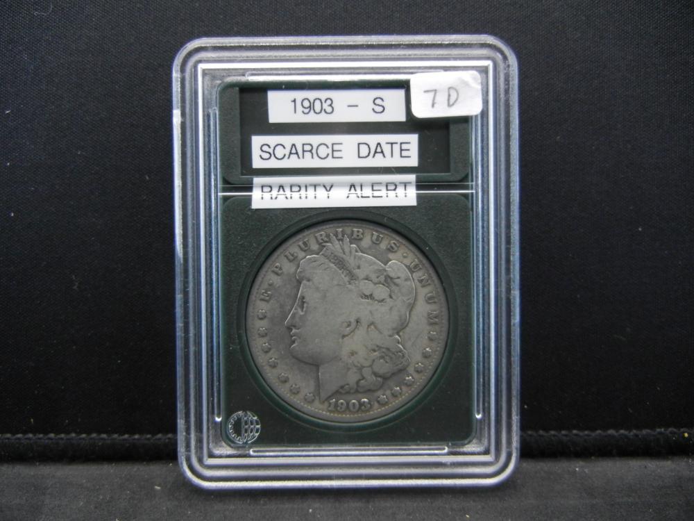 1903-S Morgan Silver Dollar. Scarce Date, Rarity Alert!