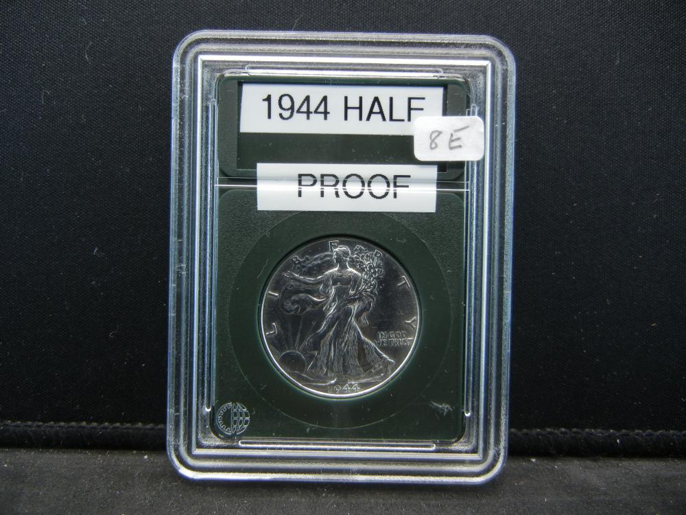 1944 Liberty Walking Half Dollar. Proof Like Details