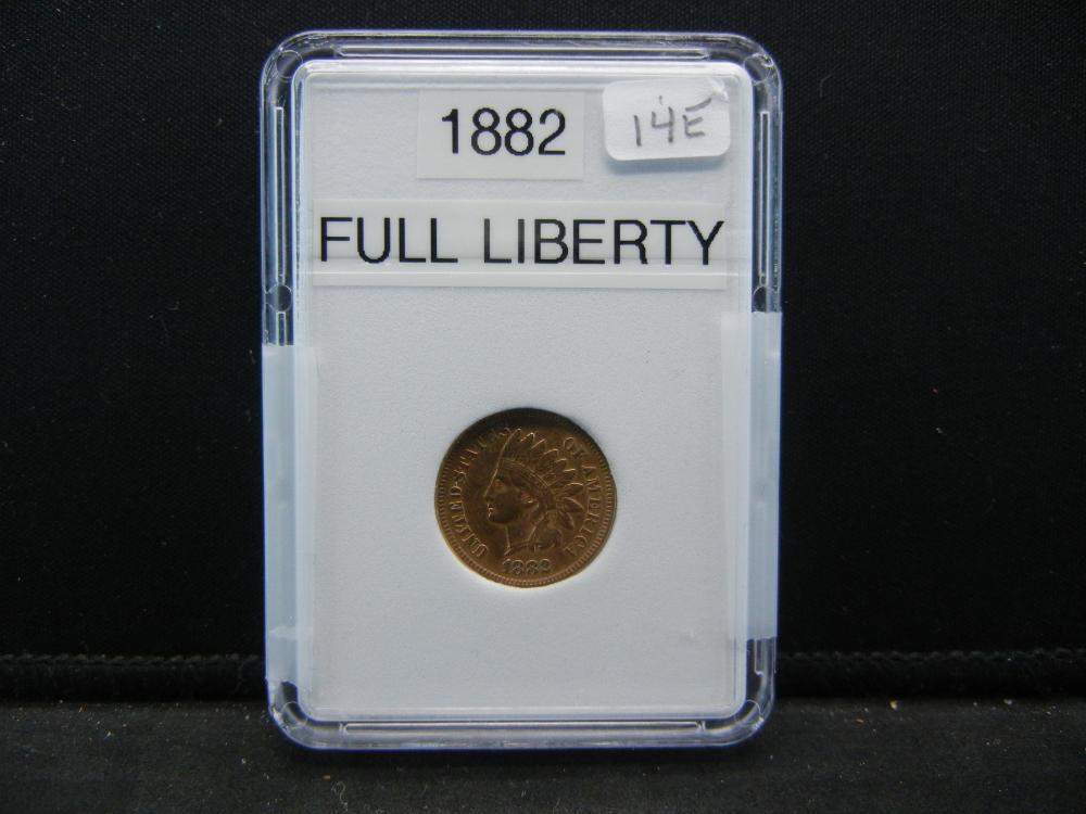 1882 Indian Head Cent. Full Liberty