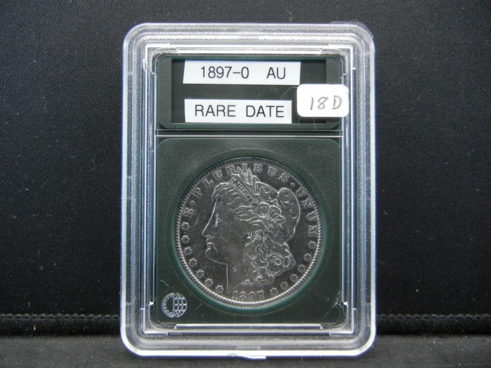 1897-O Morgan Silver Dollar. Rare Date, great Details