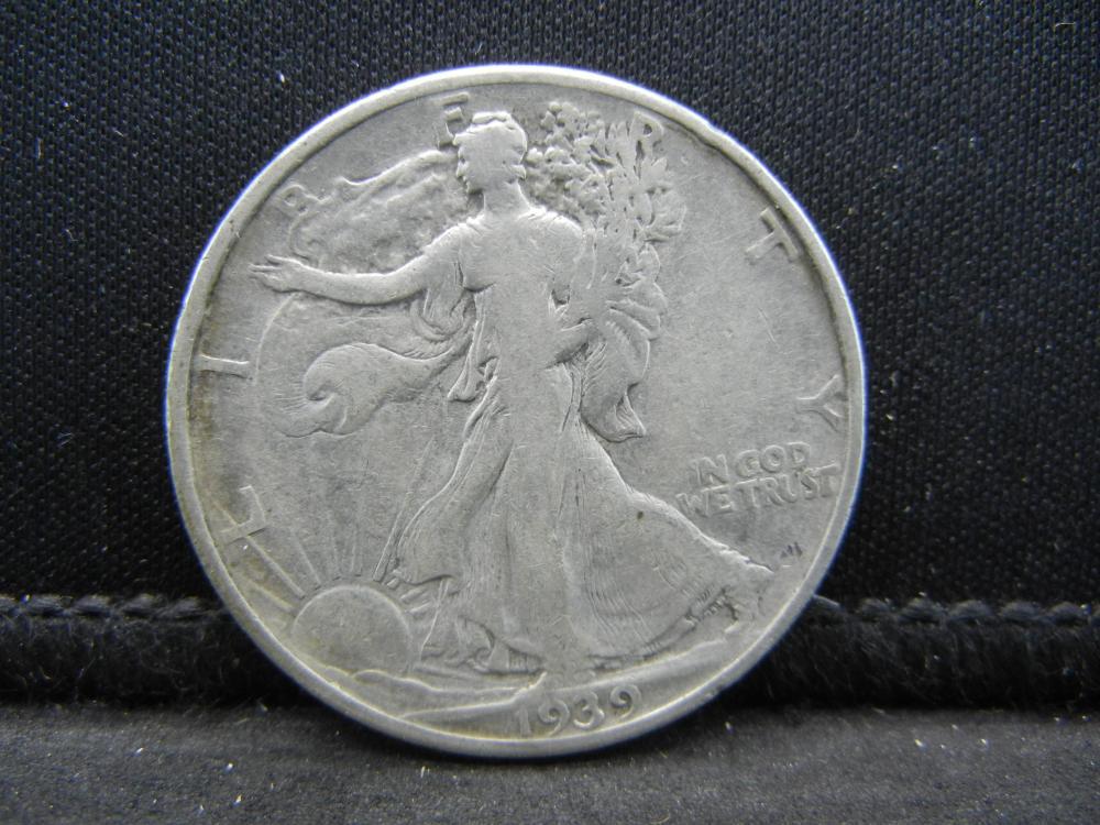 1939 Walking Liberty Half Dollar
