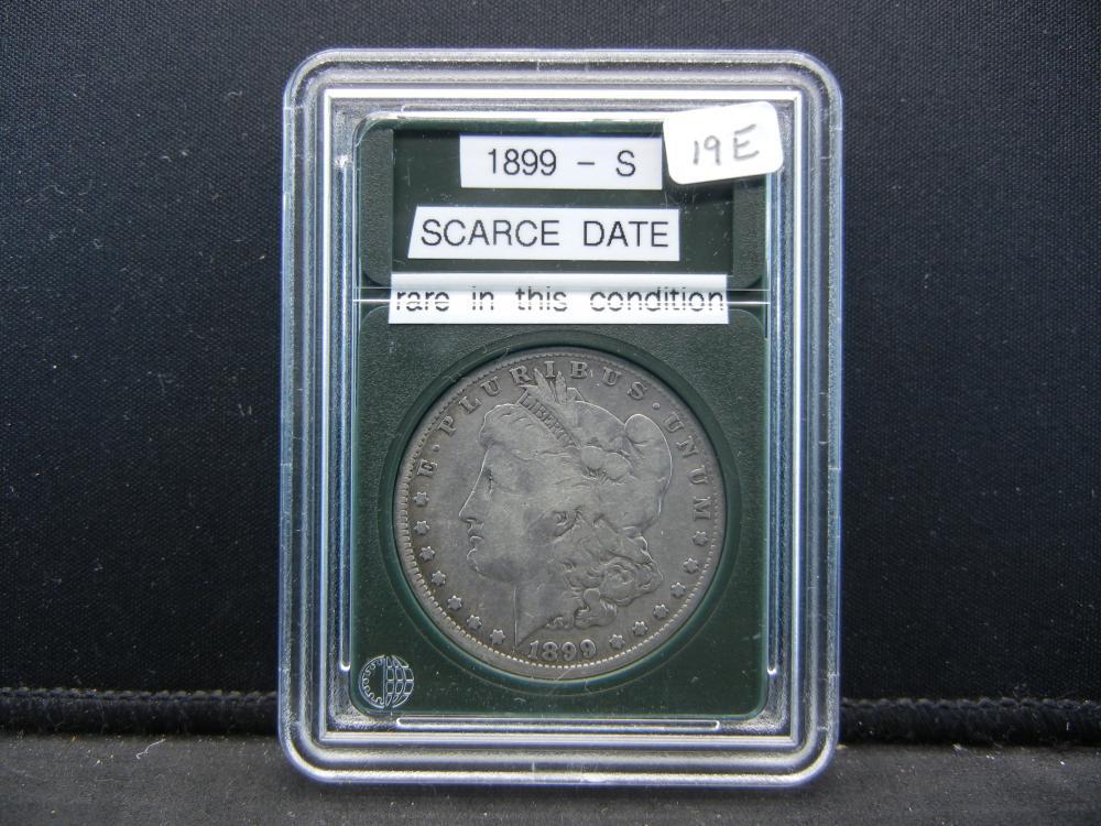 1899-S Morgan Silver Dollar, Scarce Date, Rare in this Condition