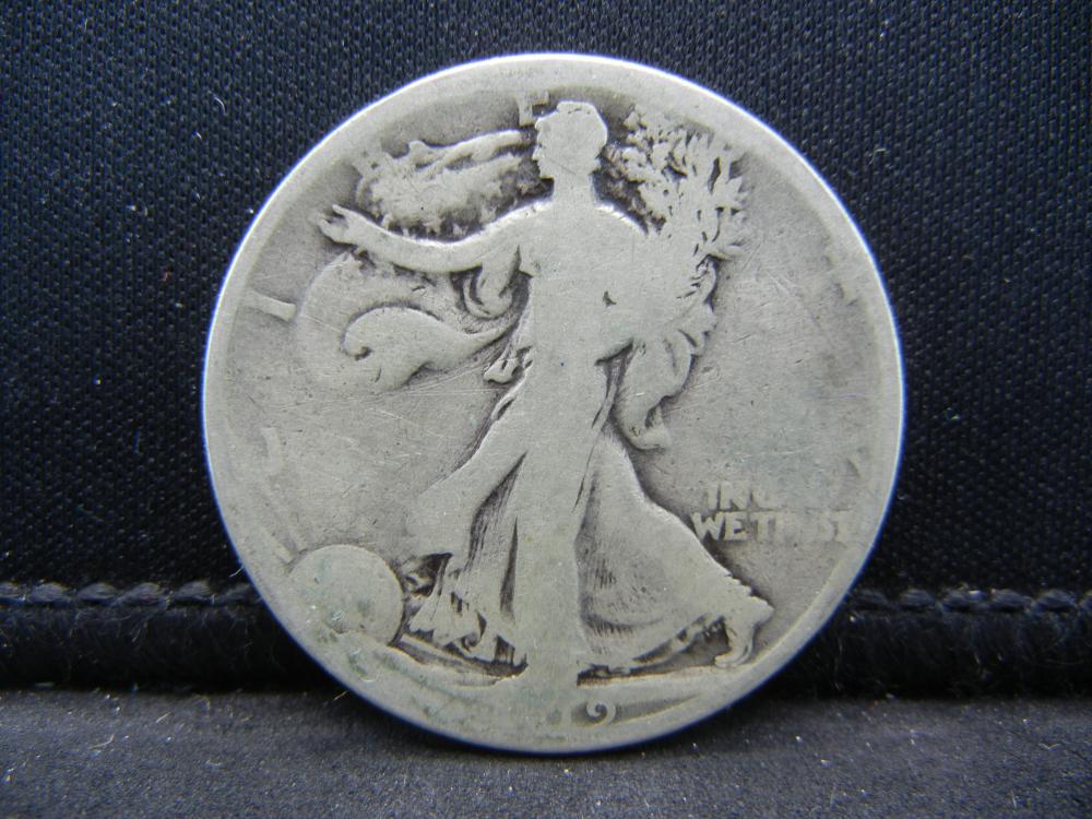 1919-S Walking Liberty Half Dollar.