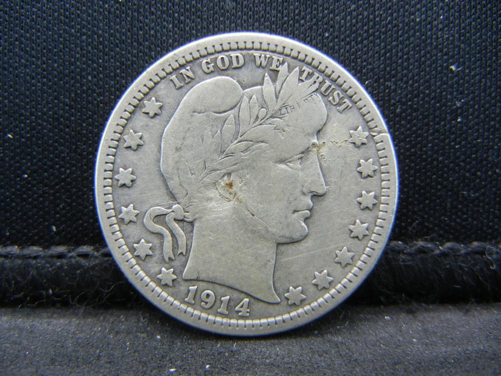 1914 Barber Quarter