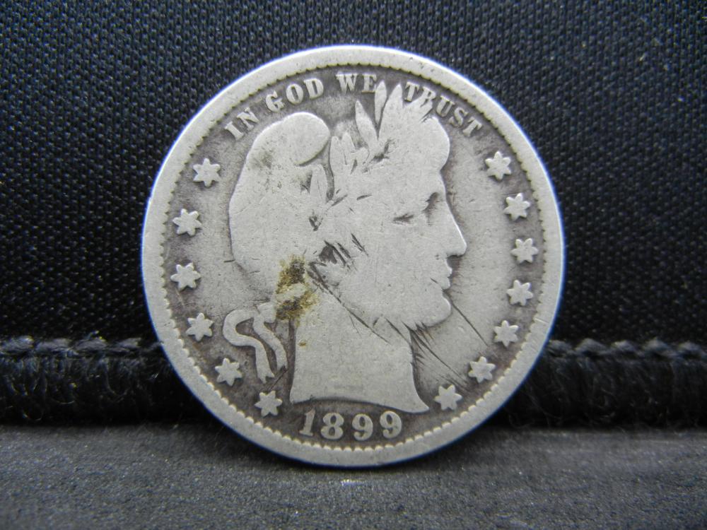 1899 Barber Quarter