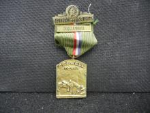 VINTAGE NRA MEDAL DATED 1939.  IT WAS AN AWARD FOR THE CROWELL TROPHY NATIONAL MATCHES IN MINNESOTA