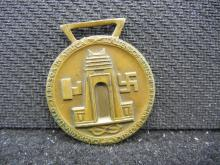 GERMAN NAZI MEDAL FOR SOLDIERS THAT SERVED IN NORTH AFRICA