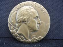 GEORGE WASHINGTON BRONZE MEDAL
