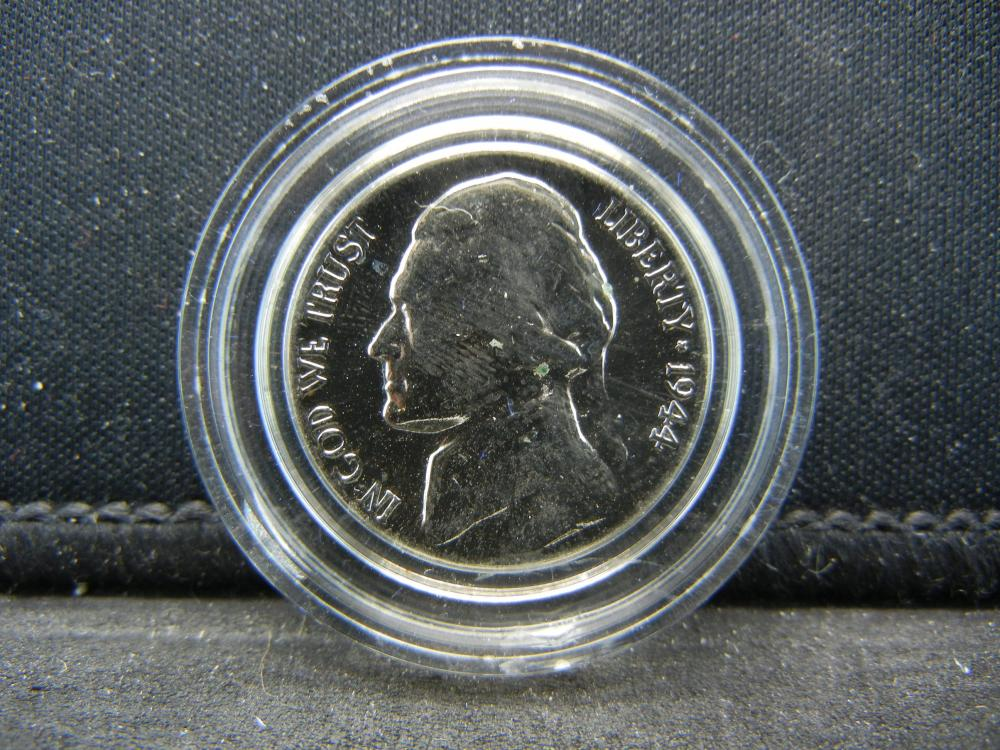 Lot 38B 1944 P Jefferson Nickel Silver