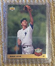 1993 Upper Deck Derek Jeter Rookie Card