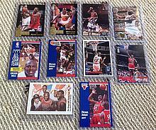 10 Different Michael Jordan Cards