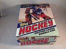 1981-82 Topps Hockey Empty Box