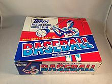 1981 Topps Baseball Cello Empty Box