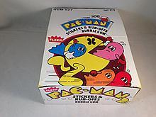 1980 Fleer Pac-Man Empty Box