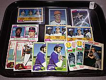 Lot of 13 Baseball Stars & RC's from 1979-81 - Nolan Ryan