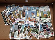 1973 Topps Baseball Lot of 56 Cards