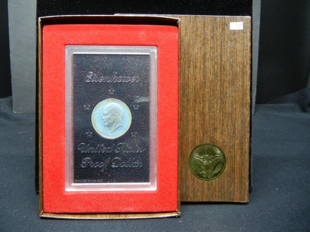 1972-S Ike Dollar US Mint Package