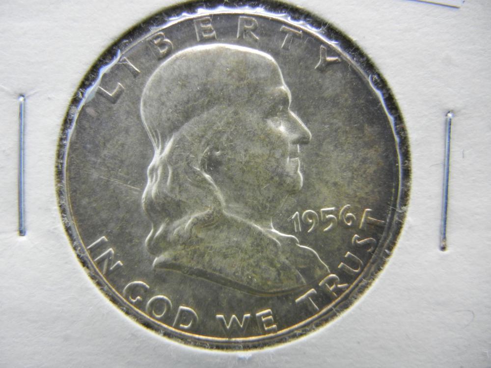 1956 Franklin Half Dollar 90% Silver