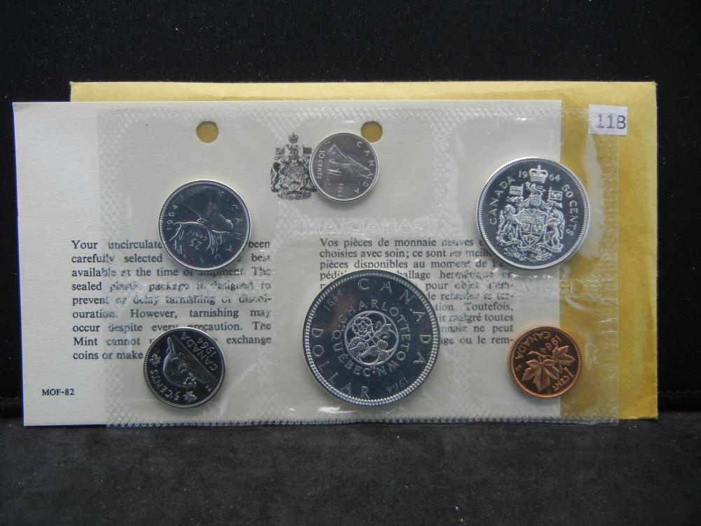 1964 Royal Canadian Mint Proof Set