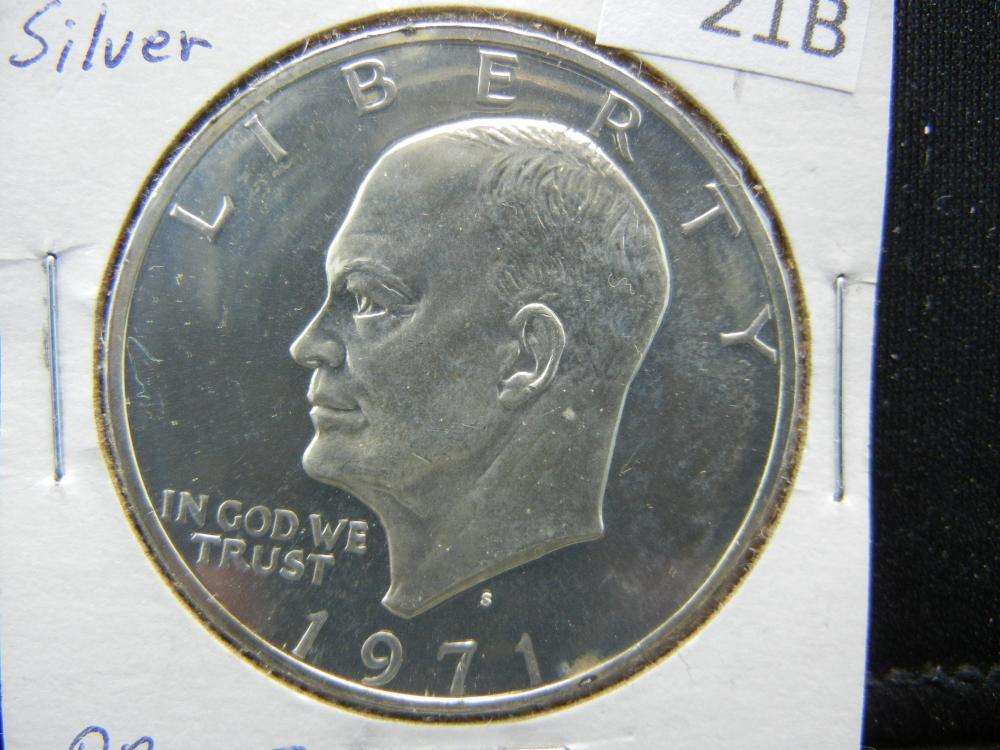 1971-S Silver Proof Ike Dollar