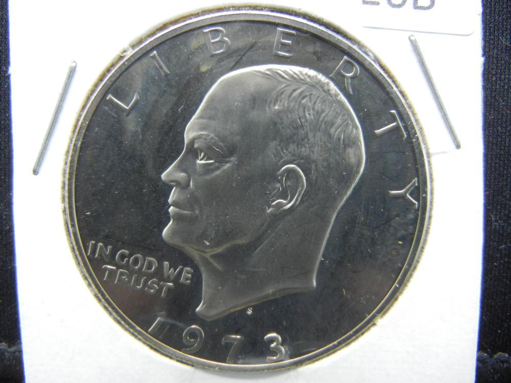 1973-S Ike Dollar
