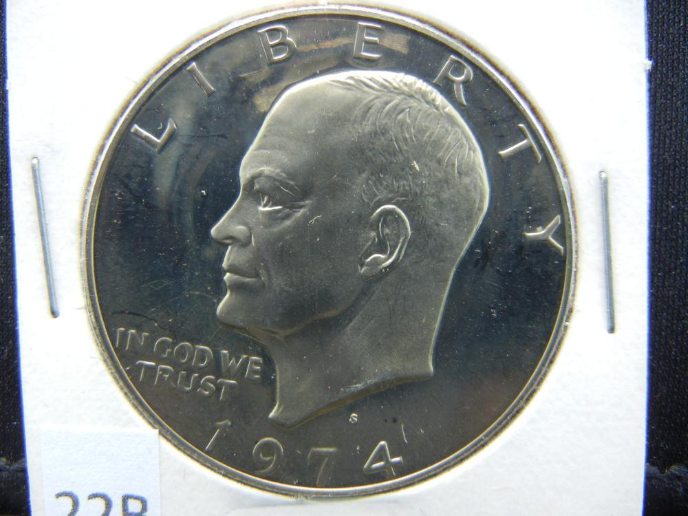 1974-S Ike Dollar