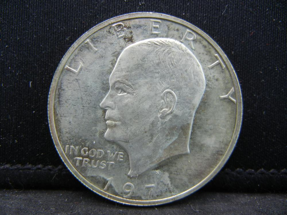 1971-S Ike Dollar