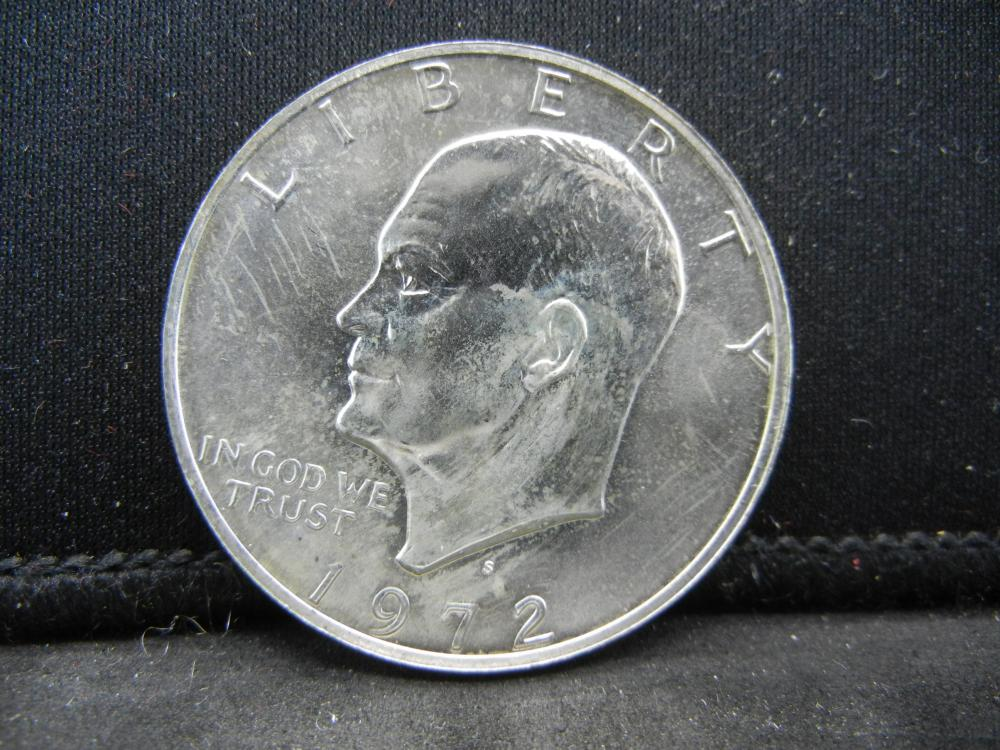 1972-S Ike Dollar