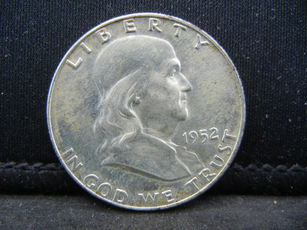 1952-D Franklin Half Dollar 90% Silver