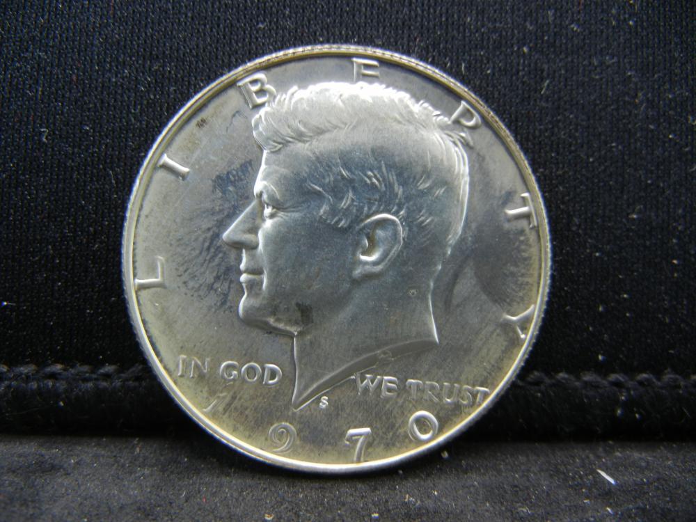 1970-S 40% Silver  Kennedy Half Dollars