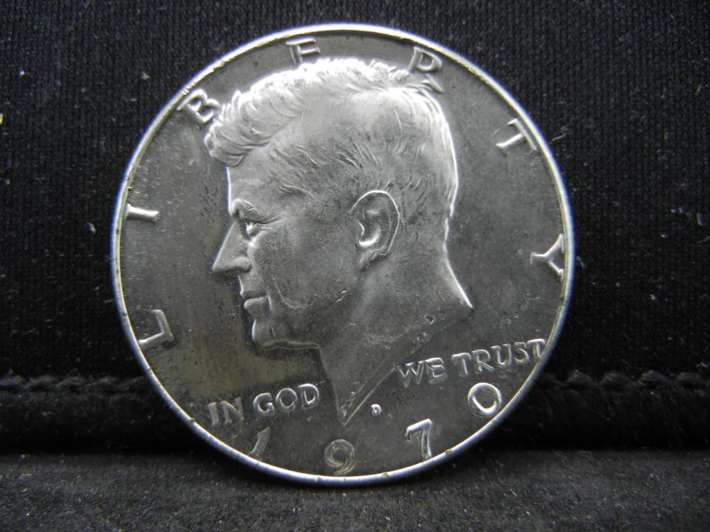 1970-D 40% Silver  Kennedy Half Dollars