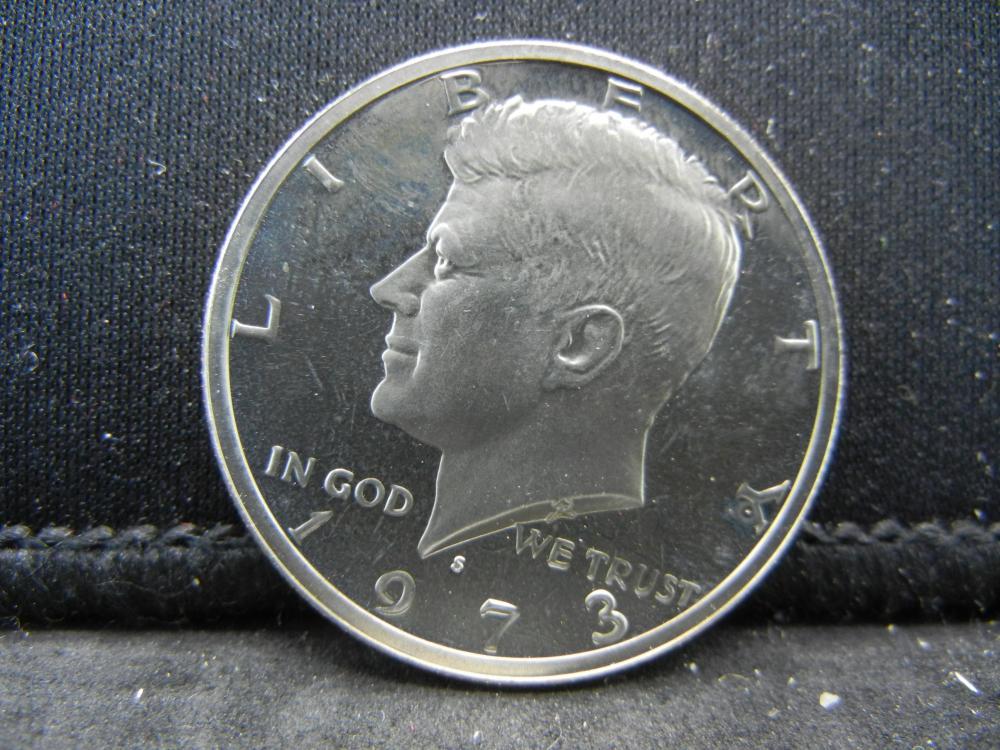 1973-S  Kennedy Half Dollars