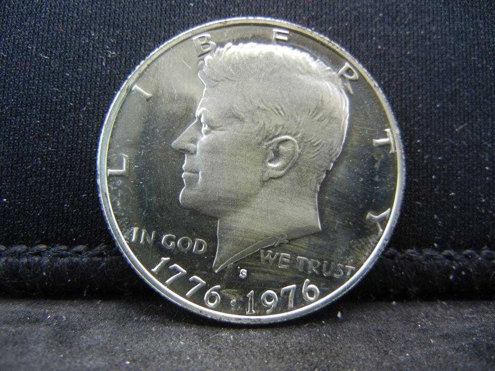 1976-S Silver Proof Kennedy Half Dollar