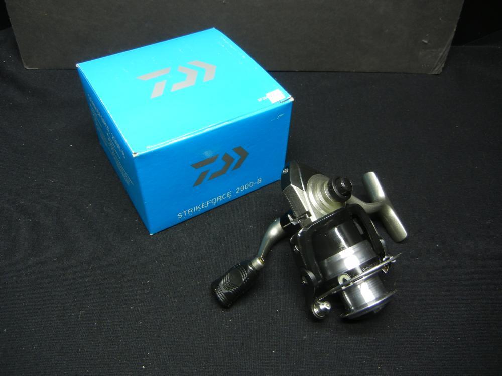 StrikeForce 2000-B 5.3:1 Gear Ratio Spinning Reel (For fishing)