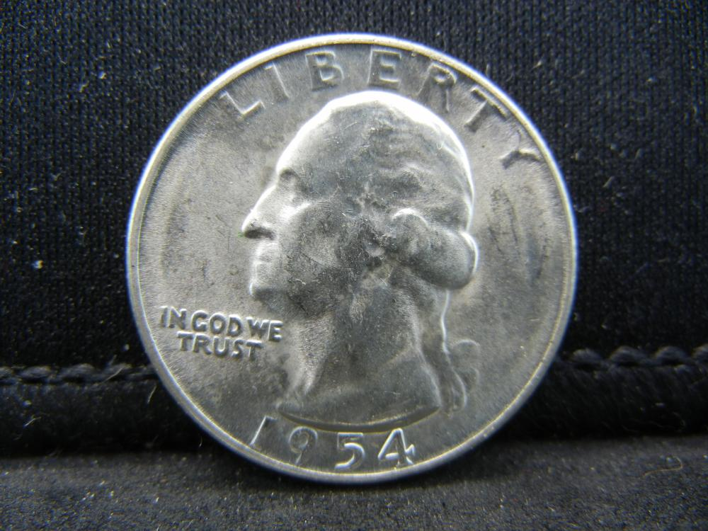 1954-S Washington Quarters 90% Silver