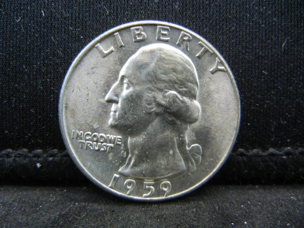 1959 Washington Quarters 90% Silver
