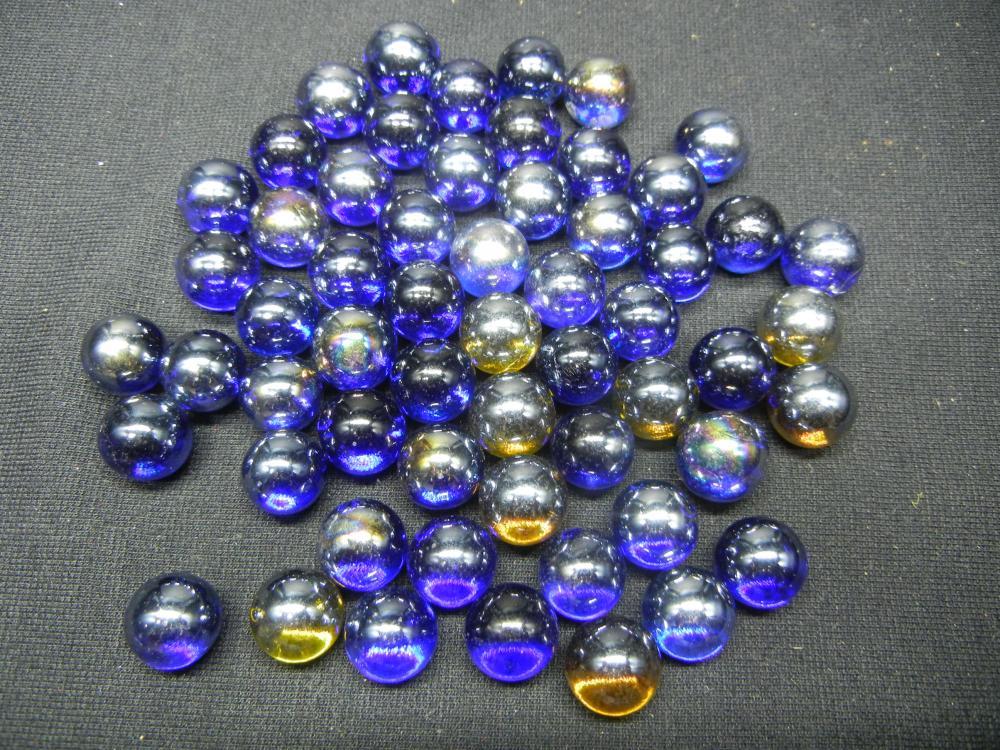 Jar of Blue Marbles