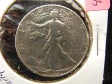 1946-D Silver Walking Liberty 50c, (Only 2.2 Mill Minted), High Grade!