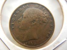 1853 Great Britain Farthing