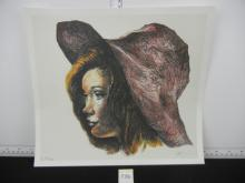 Print Pencil Signed and Numbered by Artist 53/100 Approx. 11.5