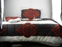 Ralph Lauren Twin Comforter, Bed Skirt, Pillow and Pillow Case