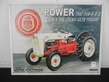 Ford Farming Tin Sign 12.5