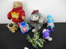 Lot of Small Stuffed Animals