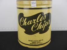 Charle's Chip Tin Can No Lid