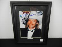 Alan Jackson Picture Genuine Autograph ??? in Frame Approx. 15.5