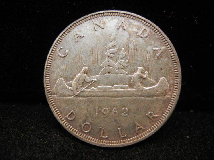 1962 Canadian Silver Dollar High Grade