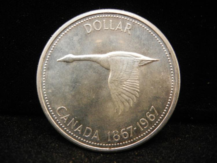 1967 Canadian Silver Dollar High Grade