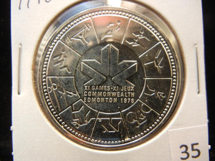 1978 Canadian Silver Dollar High Grade Edmonton