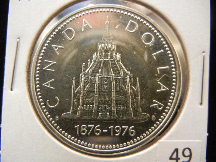 1976 Canadian Silver Dollar High Grade