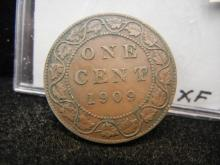 1909 Canadian Large Cent